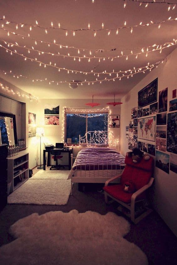 college apartment bedroom decorations