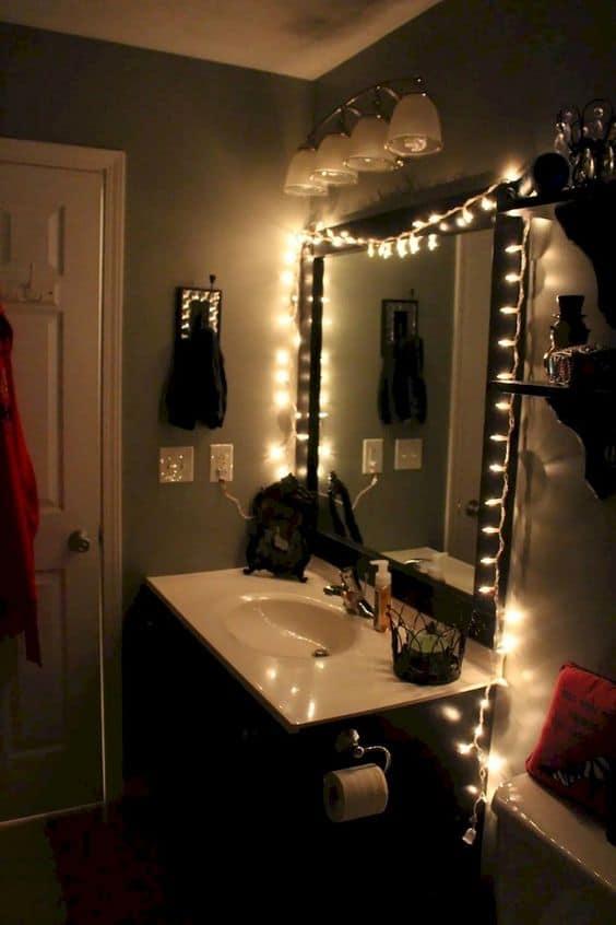 college apartment decor bathroom