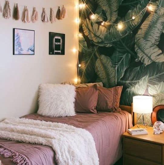 cute dorm rooms pink