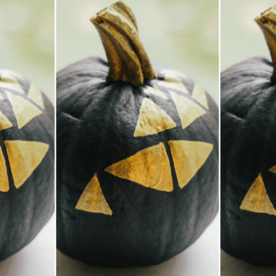 The Cutest No-Carve Pumpkin Idea That You Can Do in a College Dorm
