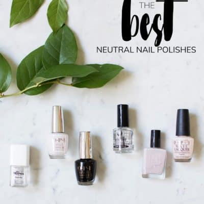 THE ONLY NAIL POLISHES I WEAR…