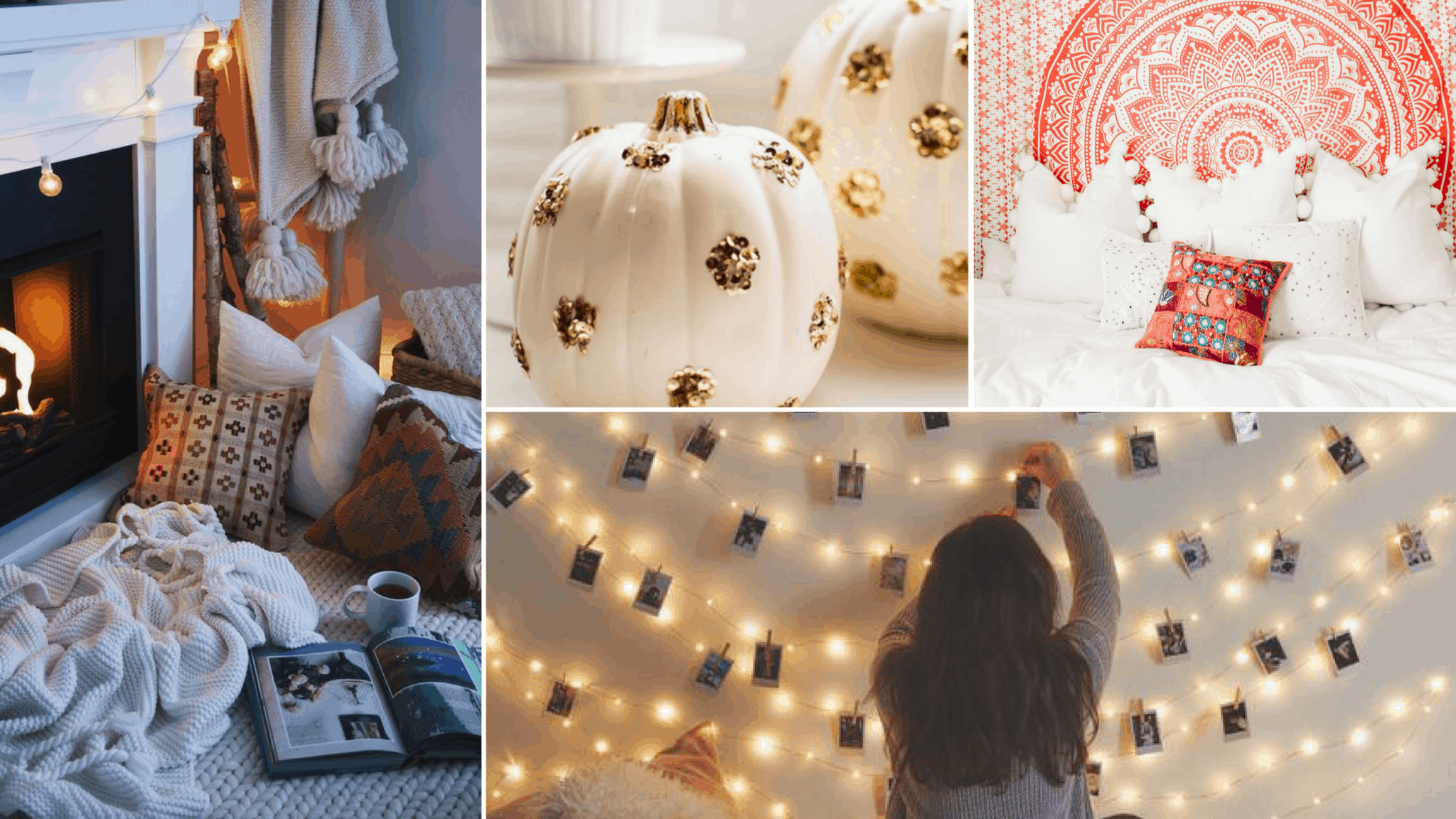 18 WAYS TO MAKE YOUR BEDROOM FEEL COZY THIS FALL