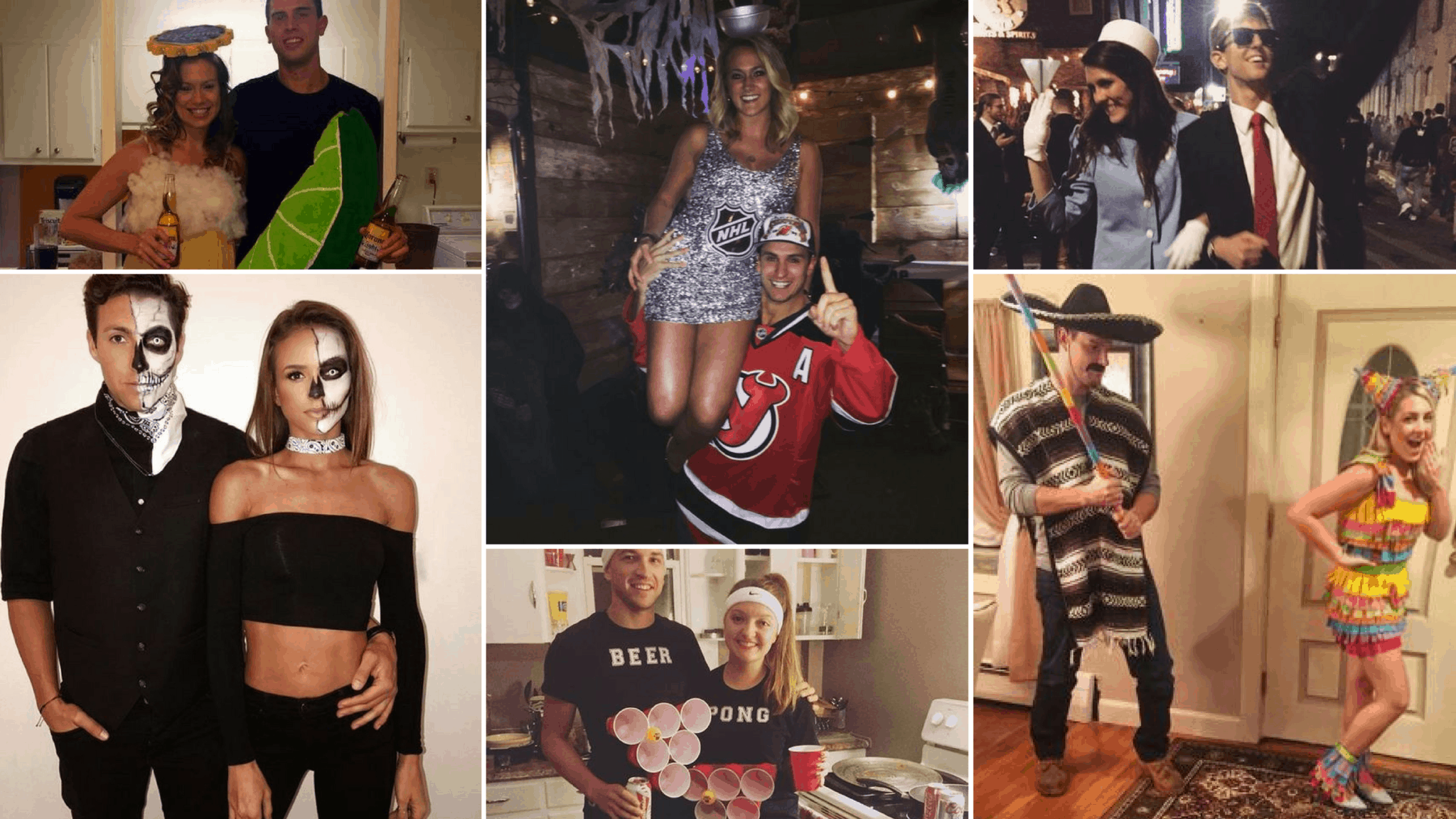 32 Easy Couple Costumes To Copy That Are Perfect For The -3754