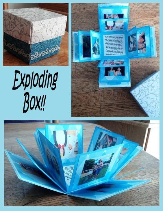 Diy Exploding Box Gift