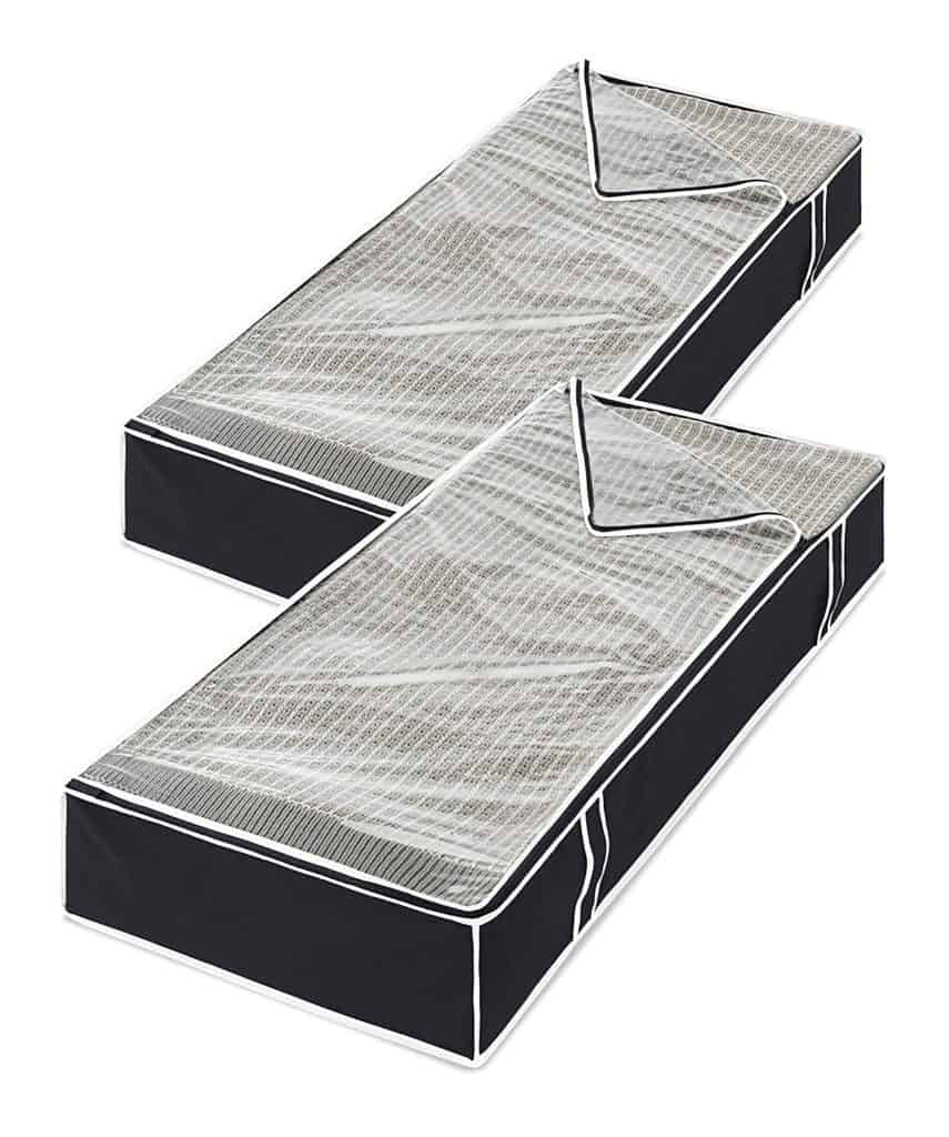 under the bed storage for dorm room