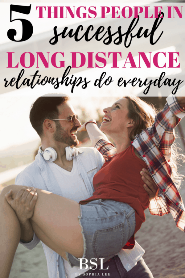 things people in successful long distance relationships do everyday