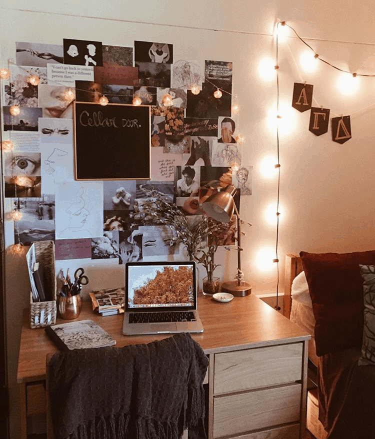 cozy dorm room wall decor
