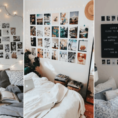 8 Cute Gallery Wall Ideas To Copy for Your College Dorm Room