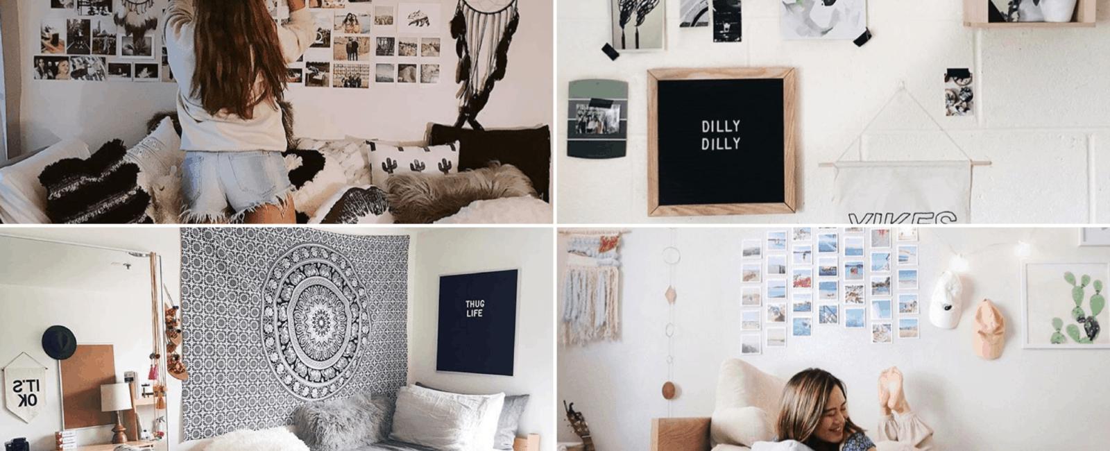 Dorm Room Wall Decor | 9 Genius Ways To Decorate Your Dorm Room Walls