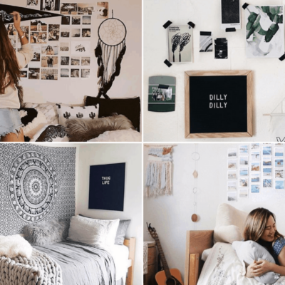 Dorm Room Wall Decor | 9 Genius Ways To Decorate Your Dorm Room Walls