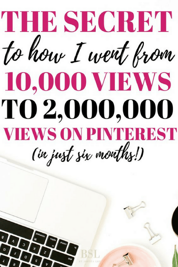 how to get a lot of views from pinterest