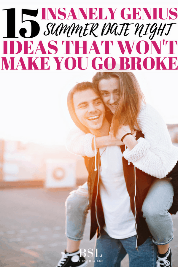 summer date ideas that wont make you go broke