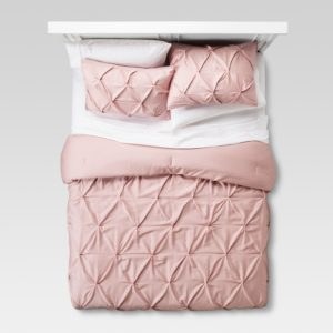 twin xl long pink ruffle bedding