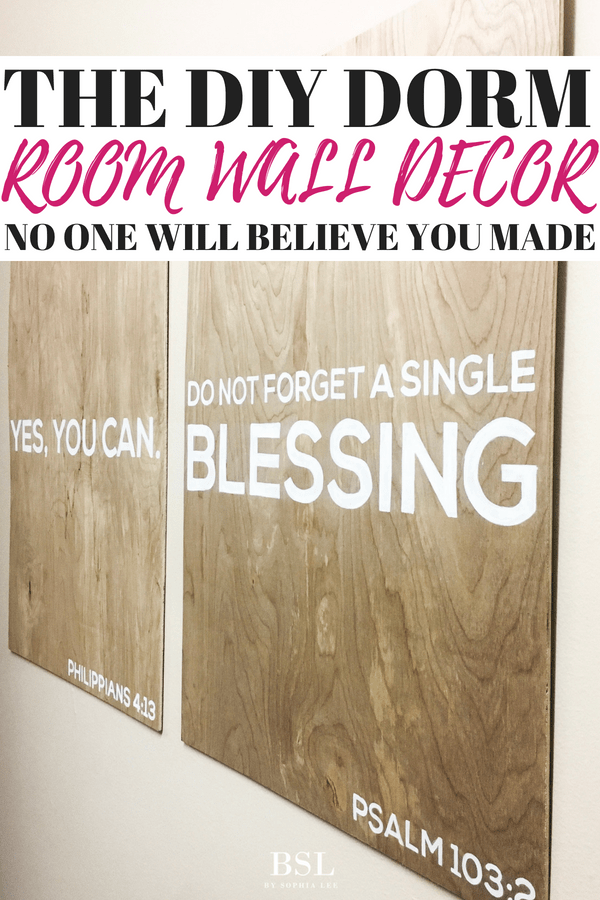 dorm room wall decor diy that no one will believe you made