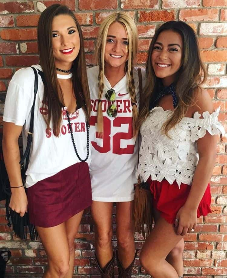 accb418375ed 22 Game Day Outfits All College Girls Need To Copy - By Sophia Lee
