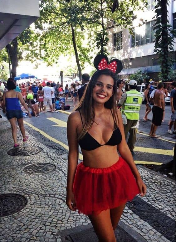 Hot Minnie Mouse Costume
