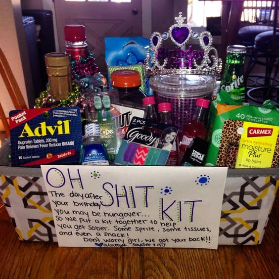 21st Birthday Emergency Kit