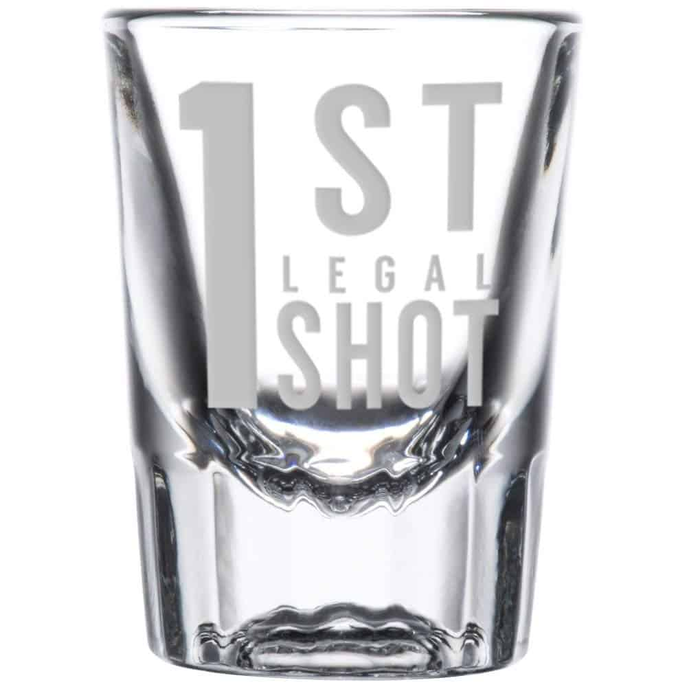 21st birthday shot glass | 21st birthday ideas