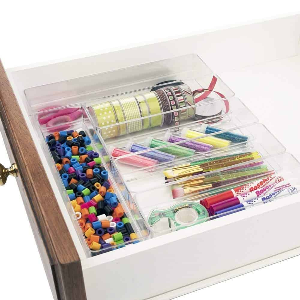 dorm drawer organization