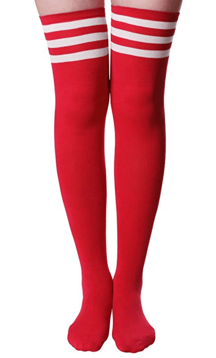 knee high socks for college game day
