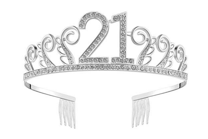 21st birthday crown