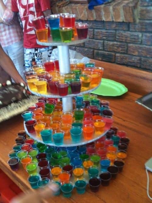 Jello Shots For 21st Birthday
