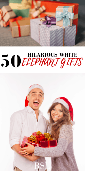funny white elephant gift ideas