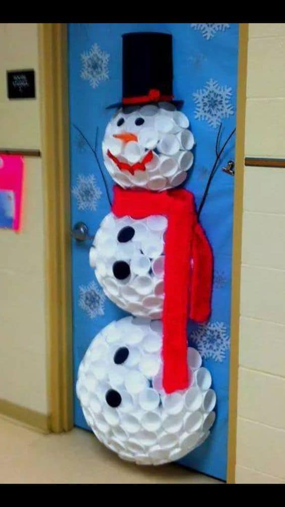 christmas dorm door decorations diy