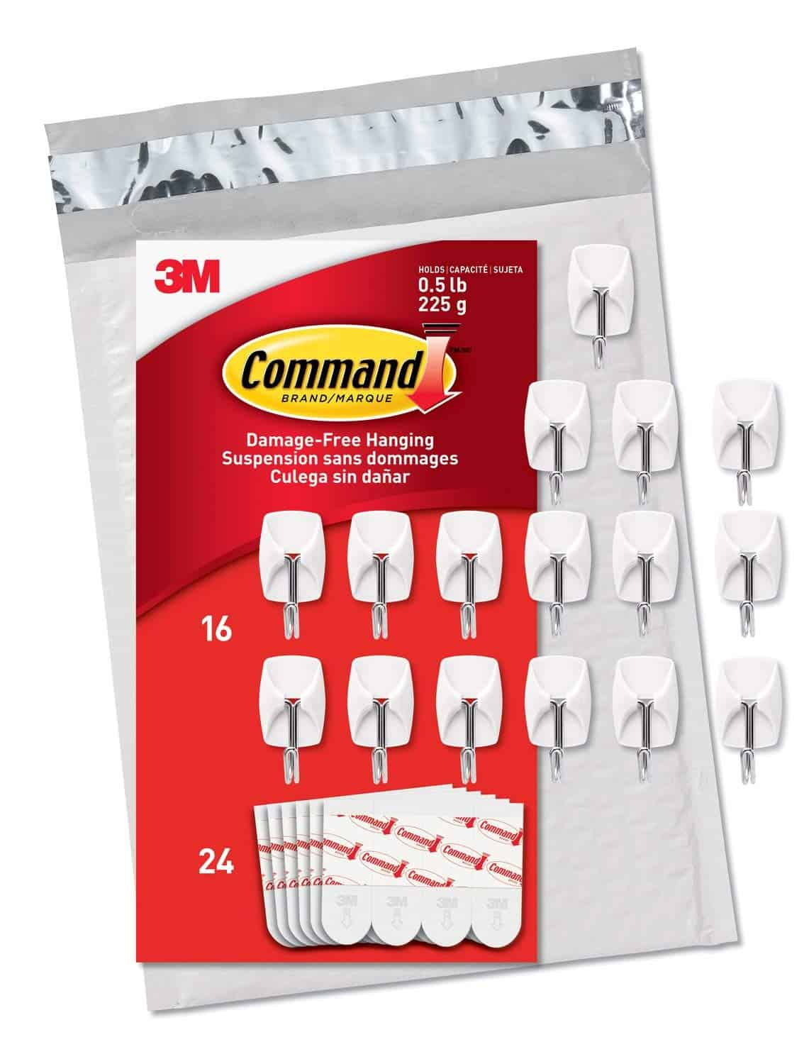command hooks for christmas