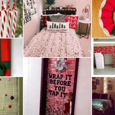 15 Extremely Cute Dorm Christmas Decorations To Copy This Year