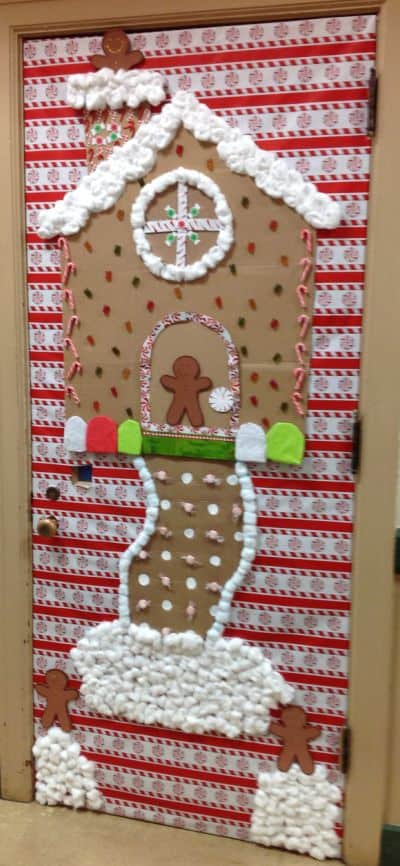 christmas dorm door ideas