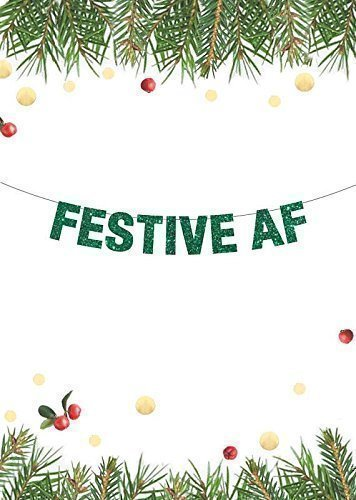 easy dorm christmas decor banner