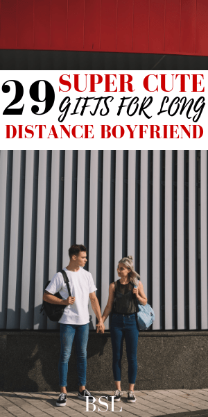 gift ideas for long distance boyfriend