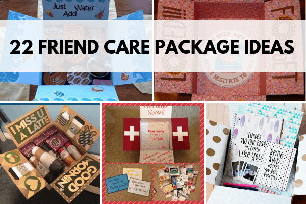 friend care package ideas