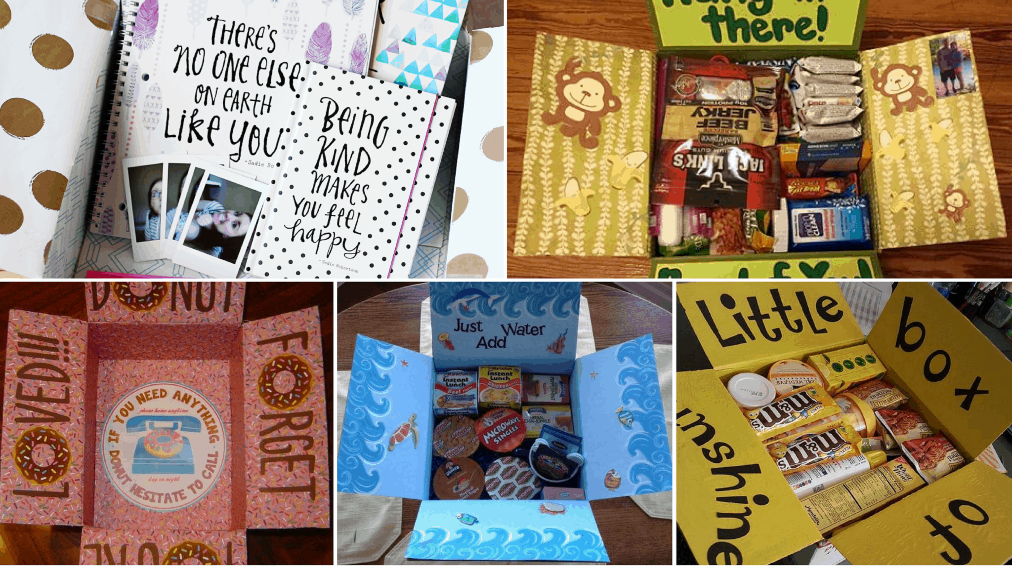 22 Genius Friend Care Package Ideas Guaranteed To Make Them Smile - By  Sophia Lee