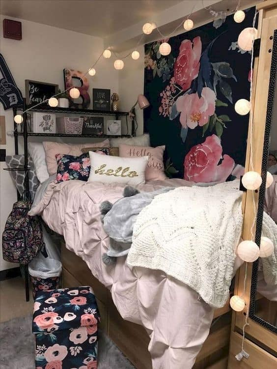 dorm room ideas for girls decoration