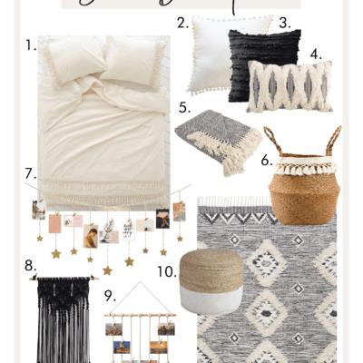 The Ultimate Guide To A Boho Dorm Room