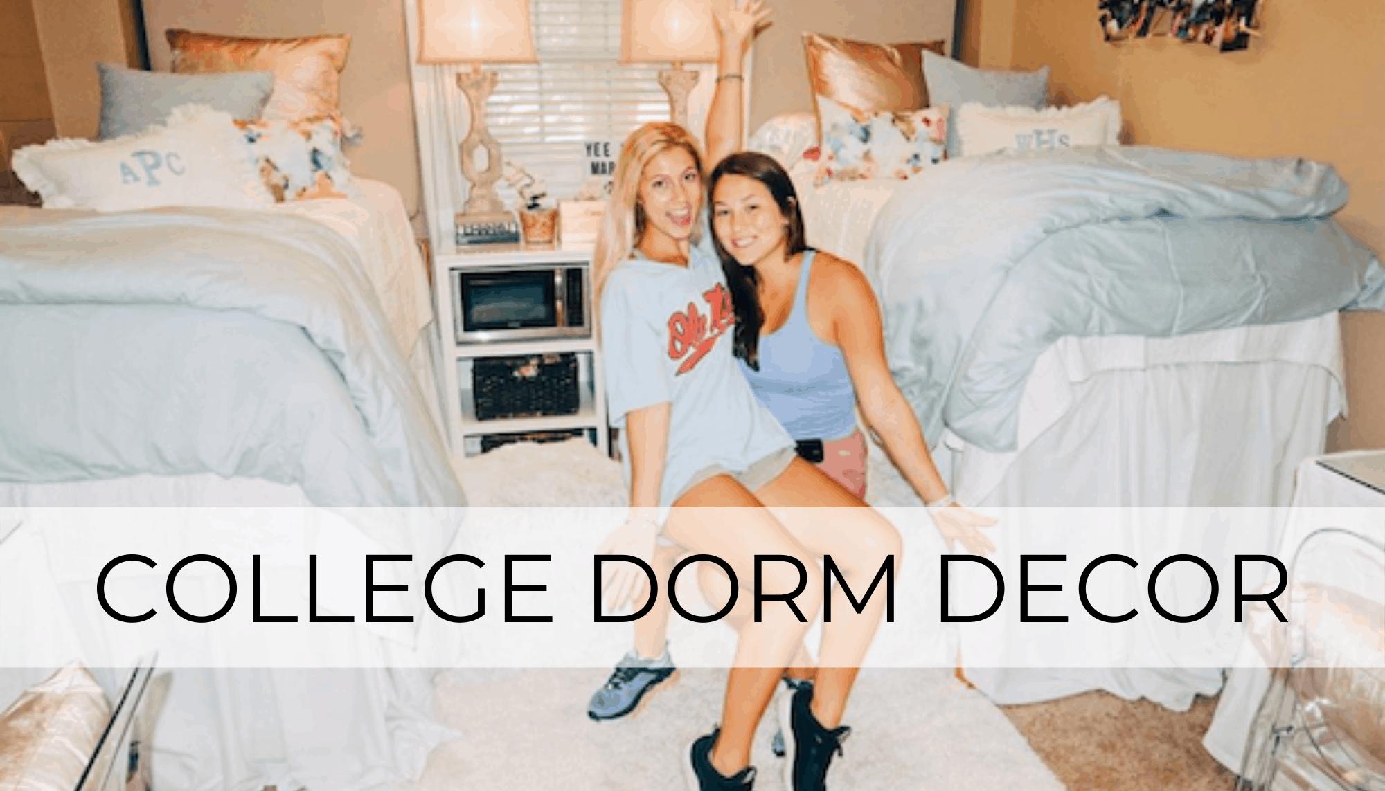 College Dorm Decor