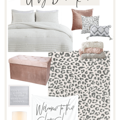The Ultimate Guide To A Girly Dorm Room