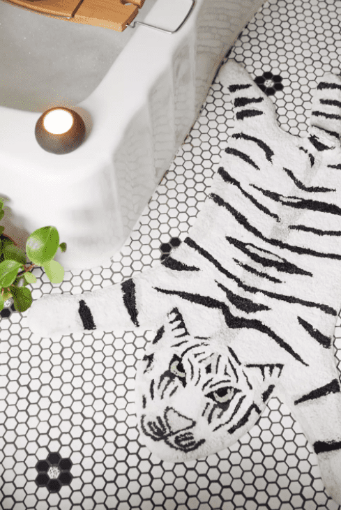 cute bath mats