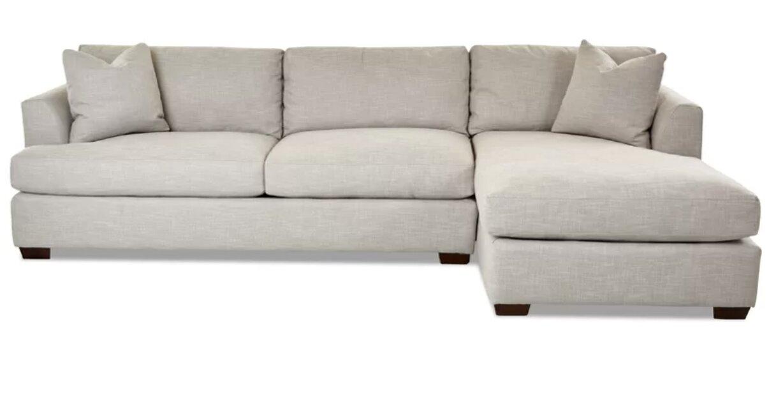 white sofa sectional