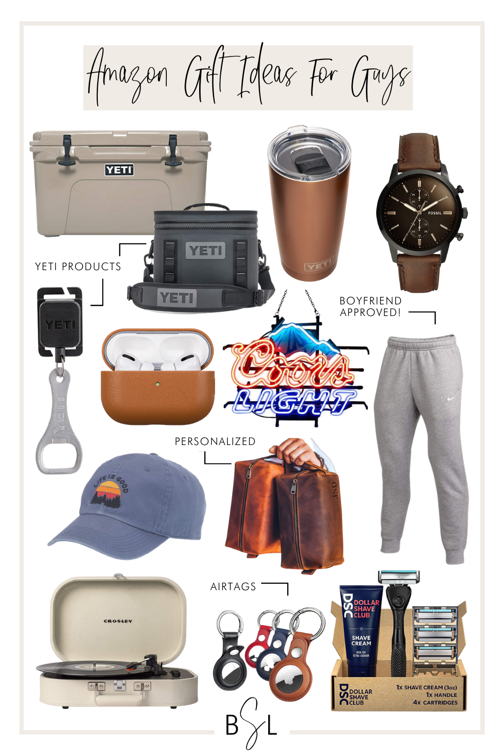 amazon gift ideas for college guys