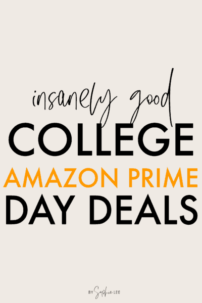 amazon prime day deals for college