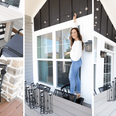 Apartment Balcony | How I Decorated My Apartment Balcony