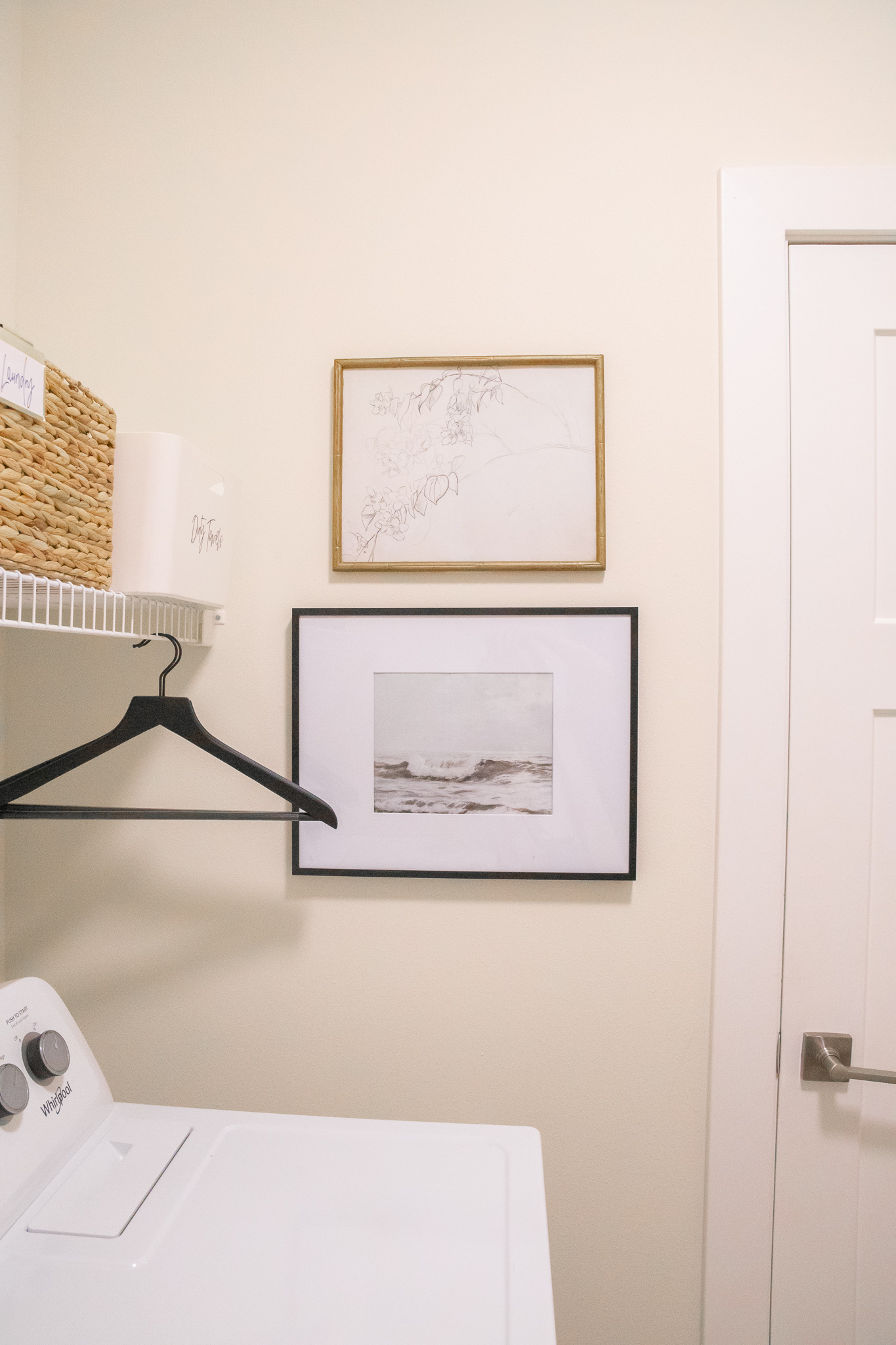 apartment laundry room decor ideas