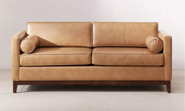 apartment sofas leather