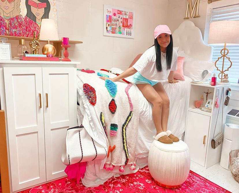 girly dorm rooms