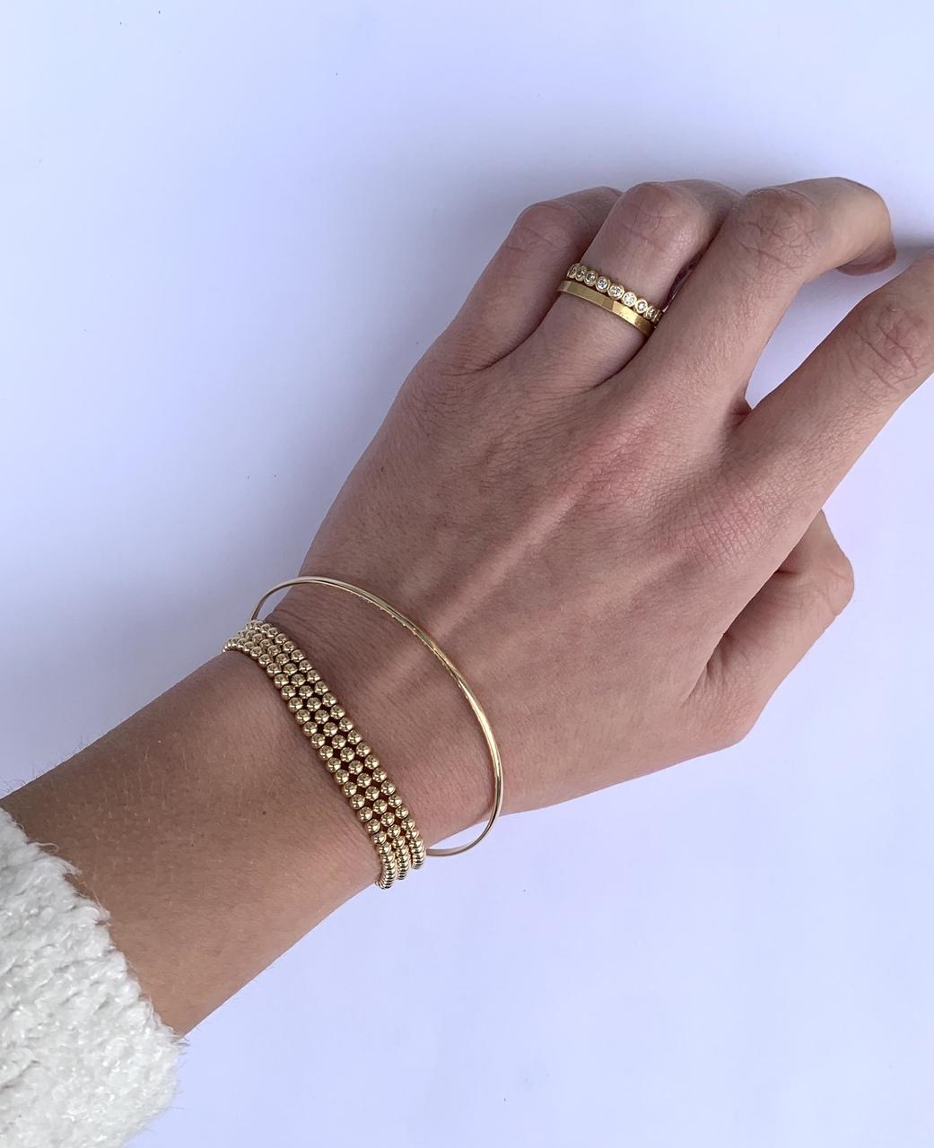 by sophia lee gold bangles
