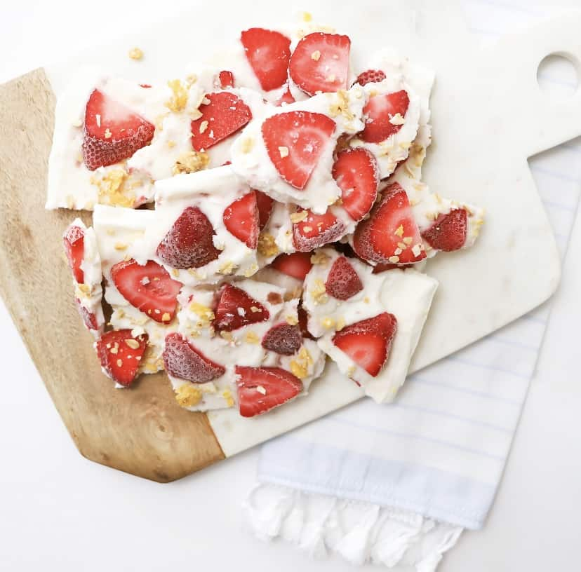 by sophia lee yogurt bark