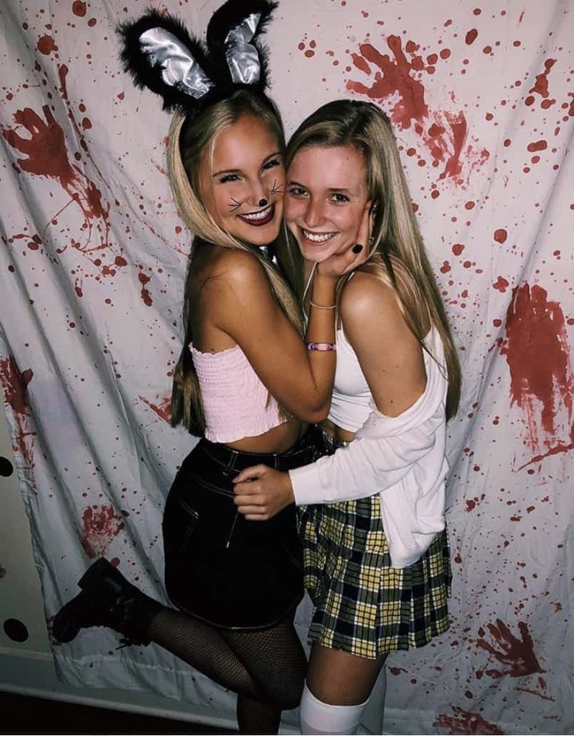 college halloween costumes bffs